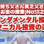 ファンダメンタル投資とテクニカル投資の違い〜お金の授業No.12〜